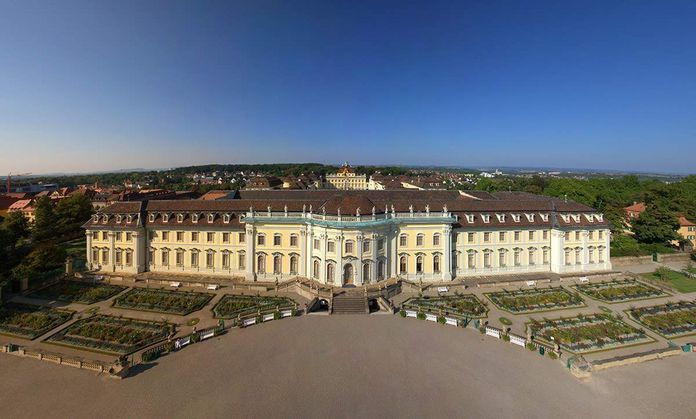 Ludwigsburg Palace, Exterior view