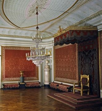 King Friedrich I's audience chamber at Ludwigsburg Residential Palace. Image: Landesmedienzentrum Baden-Württemberg, Dieter Jäger